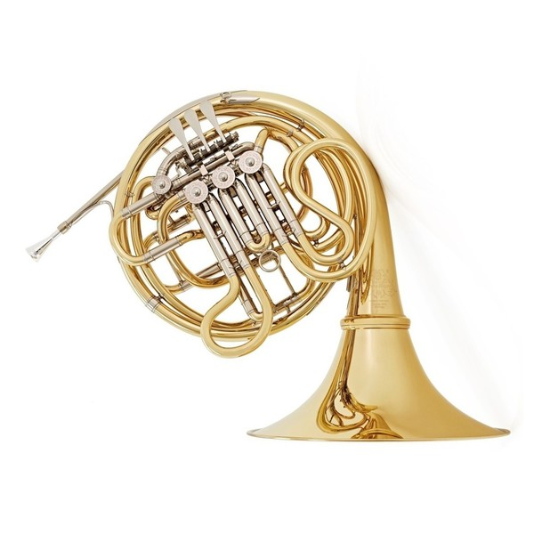Hans Hoyer 6801 Double French Horn, Lacquer, Gold Detachable Bell