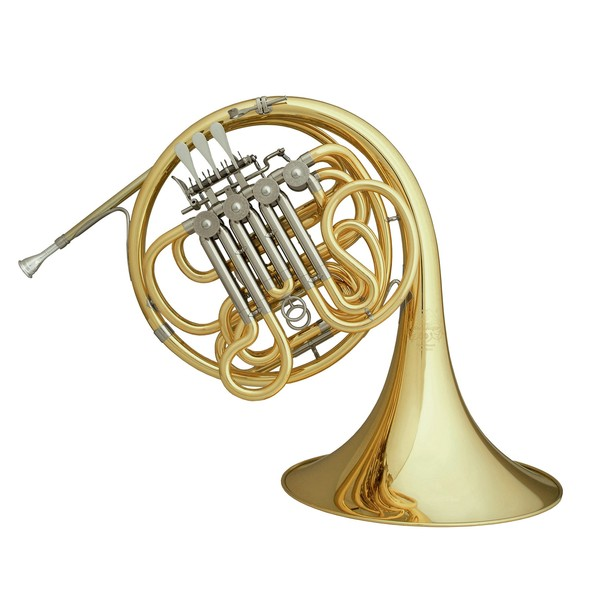 Hans Hoyer 801 Double French Horn, Clear Lacquer