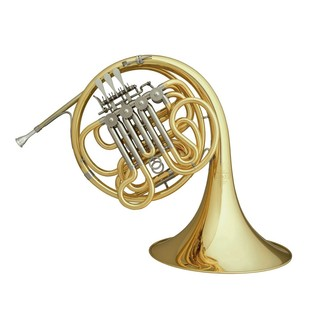Hans Hoyer 801 Double French Horn, Gold Brass Bell