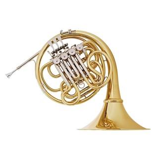 Hans Hoyer 801 Double French Horn, Gold Brass Detachable Bell