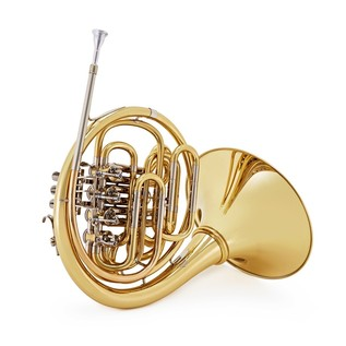 Hans Hoyer 801 Double French Horn, Gold Brass Detachable Bell