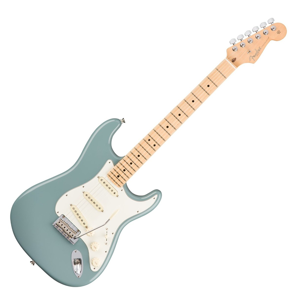 fender american professional stratocaster mn sonic grey at gear4music