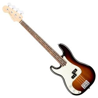 Fender American Pro Precision Left Handed Bass RW, 3-Tone Sunburst
