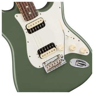 Fender American Pro Stratocaster HH RW, Antique Olive