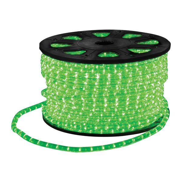 Eagle Static LED Rope Light With Wiring Accessories Kit 45m, Green