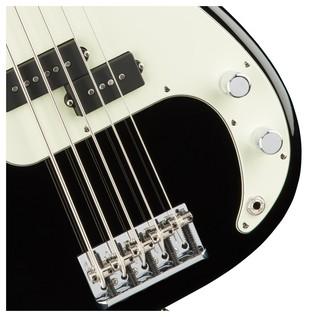 American Pro Precision V Bass Guitar MN, Black