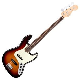 Fender American Pro Jazz Bass Guitar RW, 3-Tone Sunburst