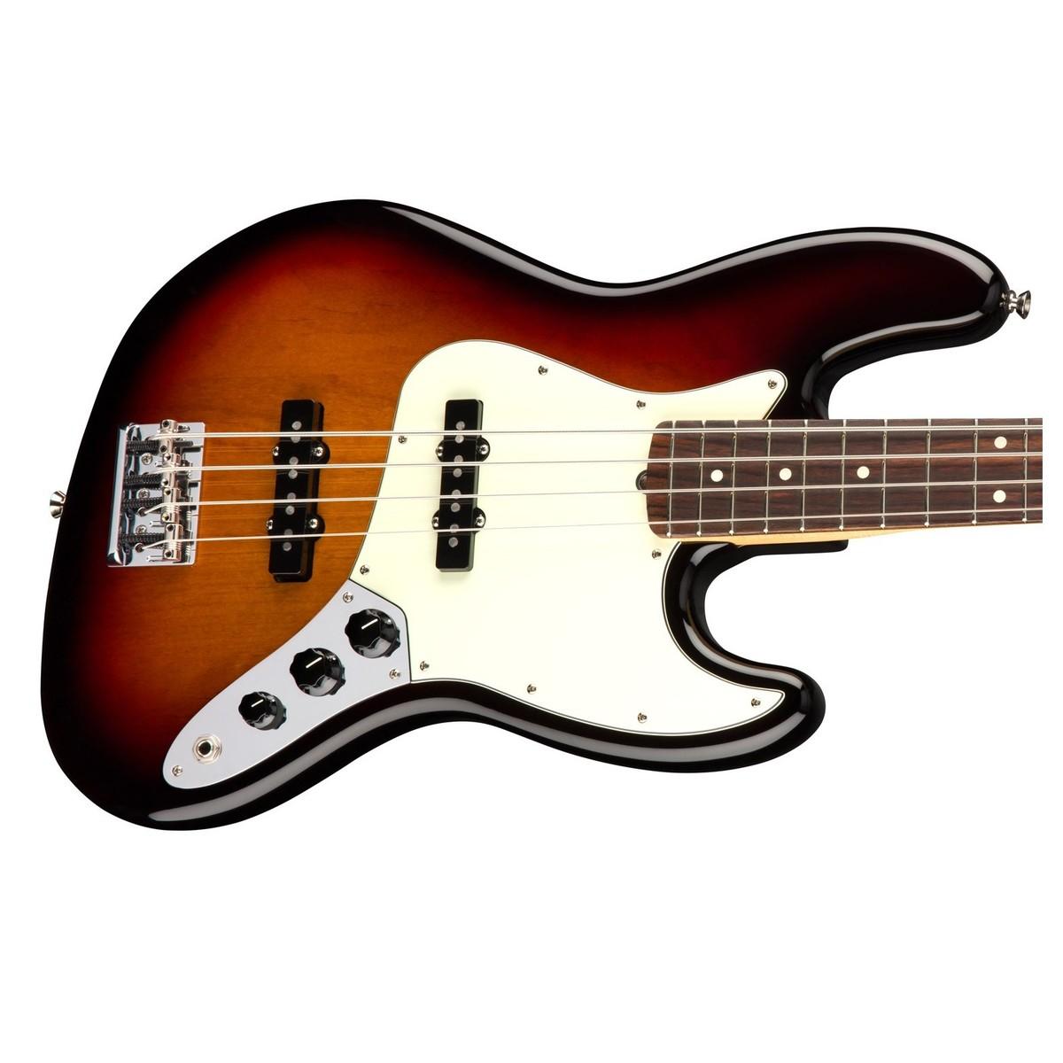 fender american professional jazz bass rw 3 tone sunburst at gear4music. Black Bedroom Furniture Sets. Home Design Ideas
