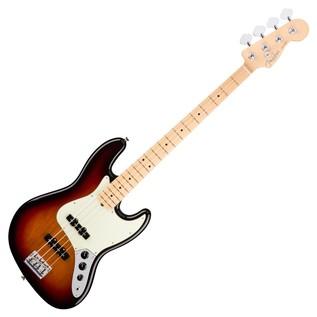 Fender American Pro Jazz Bass Guitar MN, 3-Tone Sunburst