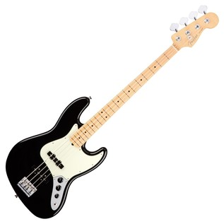 Fender American Pro Jazz Bass Guitar MN, Black