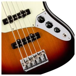 Fender American Pro Jazz V Bass Guitar, 3-Tone Sunburst