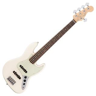 Fender American Pro Jazz V Bass Guitar RW, Olympic White