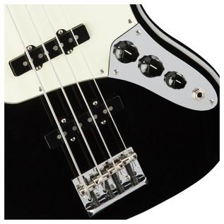 American Pro Jazz Fretless Bass Guitar, Black
