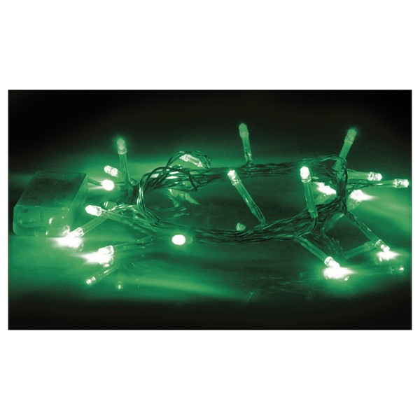 Eagle LED String Light, 20 Green