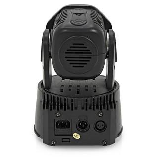 7 x 10w Mini LED Moving Head Light by Gear4music, Black