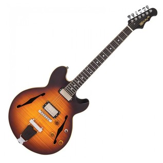 Fret King Elise GG Gordon Giltrap, Antique Sunburst
