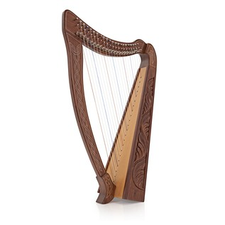 22 String Harp with Levers By Gear4music