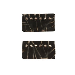 Bare Knuckle Pickups Painkiller Humbuckers, Battleworn Black Set