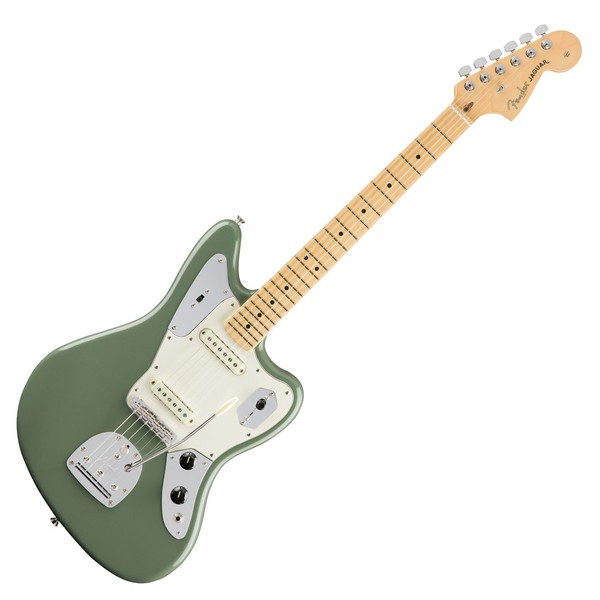 Fender American Pro Jaguar MN, Antique Olive