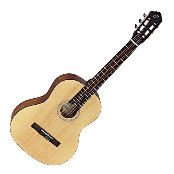 Ortega RST5 Student Series Full Size Classical Guitar, Natural Satin