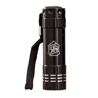 SJC Custom Drums Tech Flashlight, Black with SJC Logo