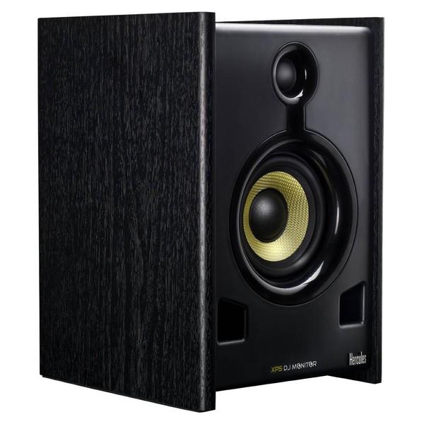Hercules XPS 2.0 80 DJ Monitor Speakers - Angled