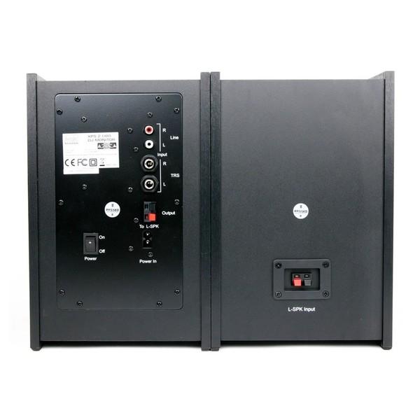 Hercules XPS 2.0 80 DJ Monitor Speakers - Rear
