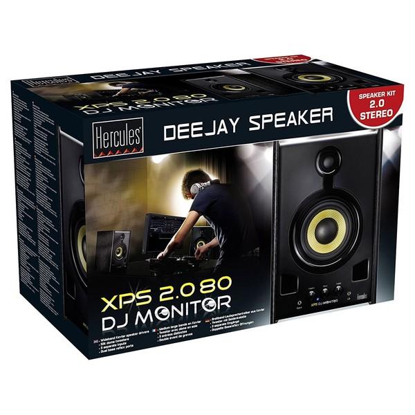 Hercules XPS 2.0 80 DJ Monitor Speakers - Boxed