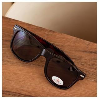 SJC Custom Drums Sunglasses, Tortoise with White Logo