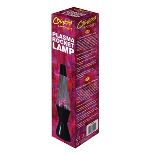 Contact Sensitive Plasma Rocket Lamp