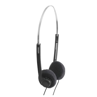 SoundLAB Lightweight Stereo Headphones With Black Pads