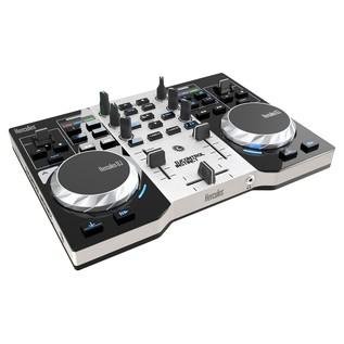 Hercules DJ Control Instinct S DJ Controller - Angled