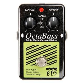 EBS OctaBass Studio Edition Octave Bass Pedal