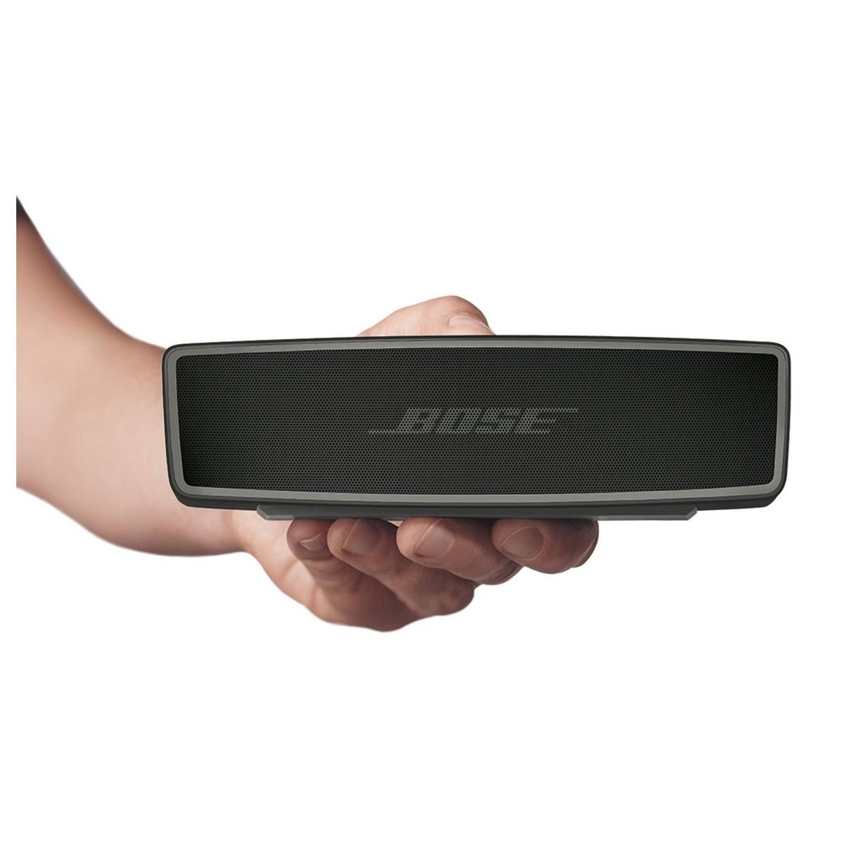 bose soundlink mini ii bluetooth speaker carbon box opened at gear4music. Black Bedroom Furniture Sets. Home Design Ideas