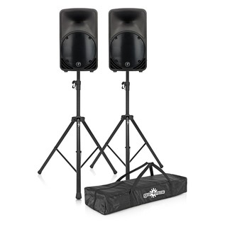 Mackie C200 Passive PA Speaker Bundle