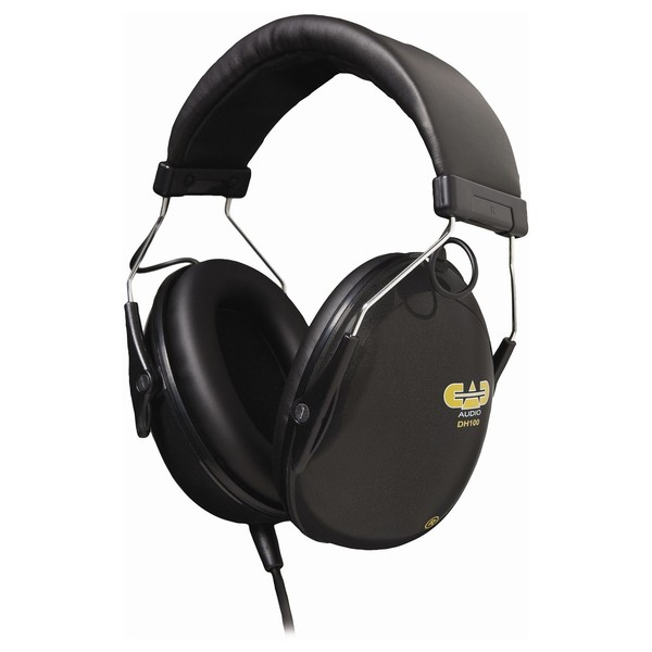 CAD DH100 Drummer Isolation Headphones - Angled