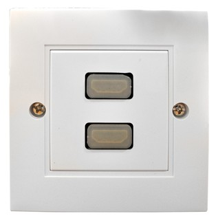 Eagle Twin HDMI Wall Plate