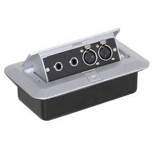 Eagle Pop-up AV Combination Plate with Jack Sockets & 3 Pin XLR