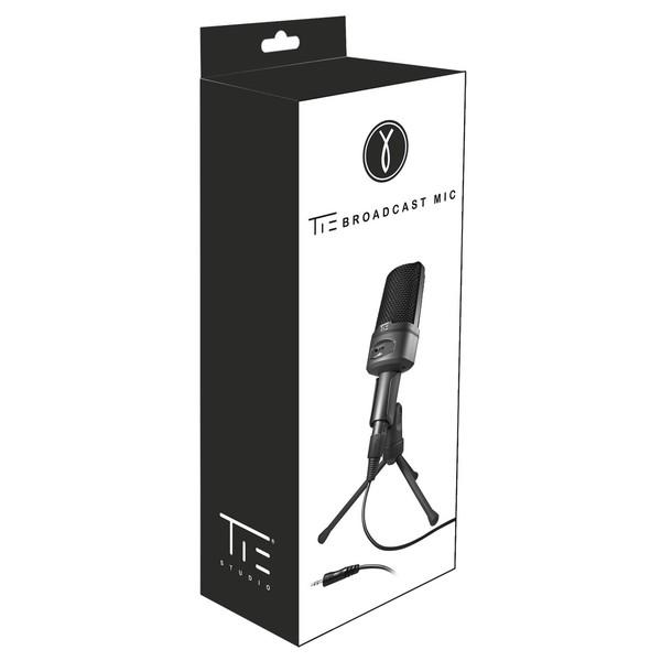 Tie Studio Broadcast Microphone with 3.5mm Mini Jack Plug - Boxed