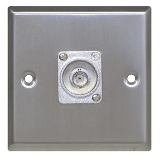 Eagle Metal AV Wall Plate With BNC Socket
