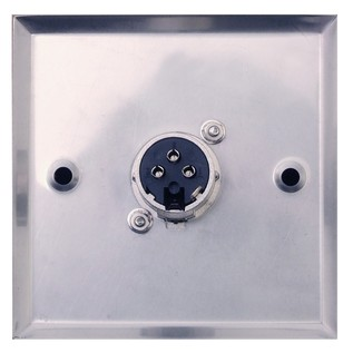 Eagle Metal AV Wall Plate With XLR Socket