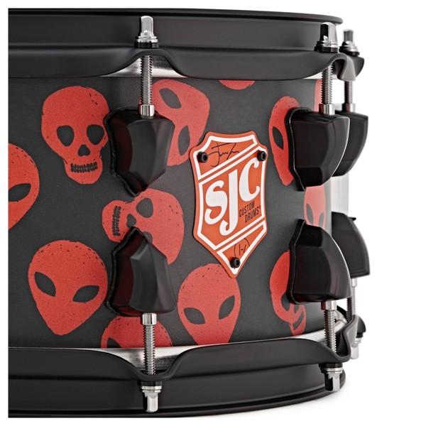 "SJC Drums Josh Dun Signature ""Spooky"" Snare Drum, 14 x 6"