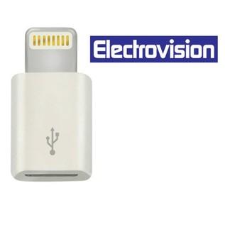 Electrovision USB Micro To Lightning Adaptor