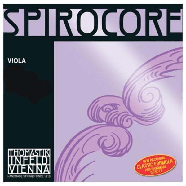Thomastik Spirocore Viola D String, Aluminium Wound, 4/4 Size, Light
