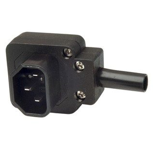 Electrovision 3 Pin IEC Right Angled Line Plug 6A
