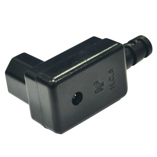 Electrovision 3 Pin IEC Right Angled Line Socket 10A