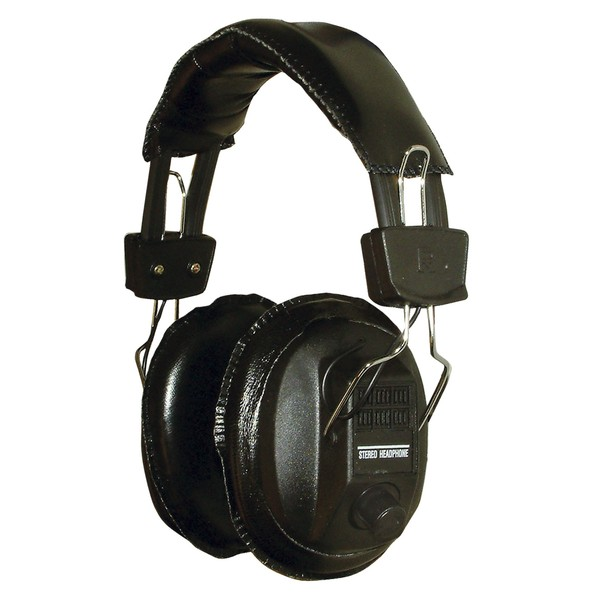 SoundLAB Full Size Economy Padded Headphones With Volume Controls