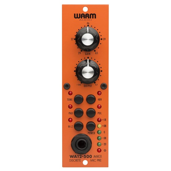 Warm Audio WA12-500 MK II - Front