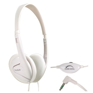 SoundLAB Switched Lightweight Stereo Headphones With Volume Control