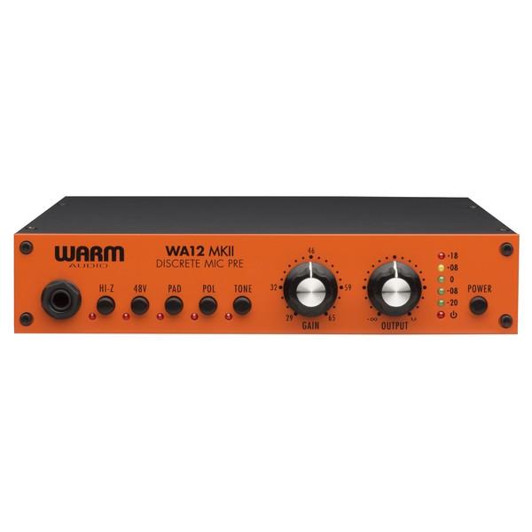 Warm Audio WA12 MK II Discrete Microphone Preamp - Front